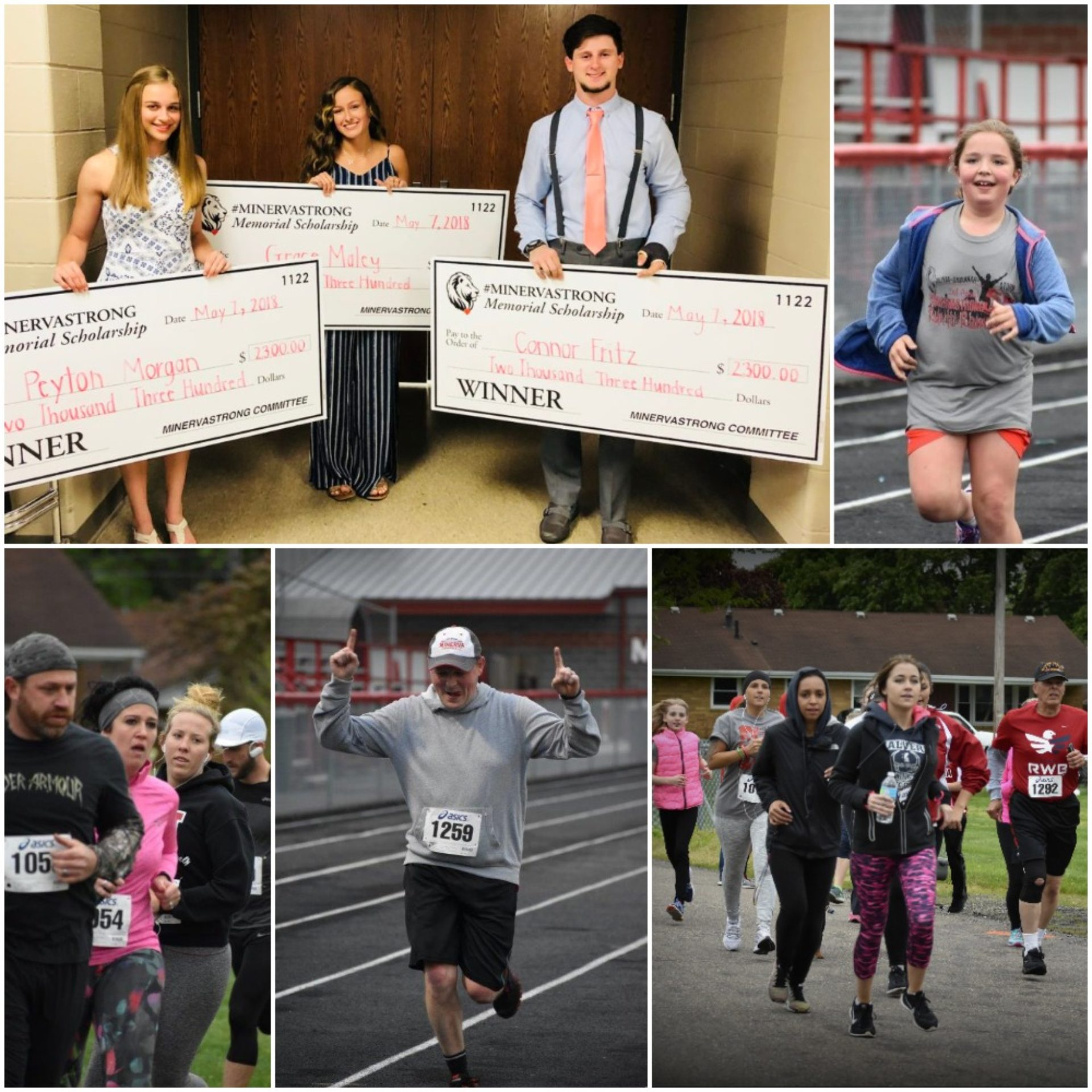 #MinervaStrong Memorial 5K – Friday, May 3, 2019 presented by Ron Marhofer Auto Family, Minerva Manufacturing Facility (AAM), and G.L. Auto Glass/Detailing, All American Scales & Calibration, Normandy Inn / Turkey Poker Run, Robertson Industries